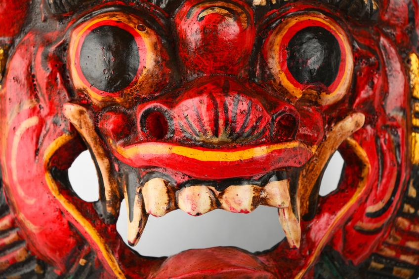 Bali Souvenir Mask