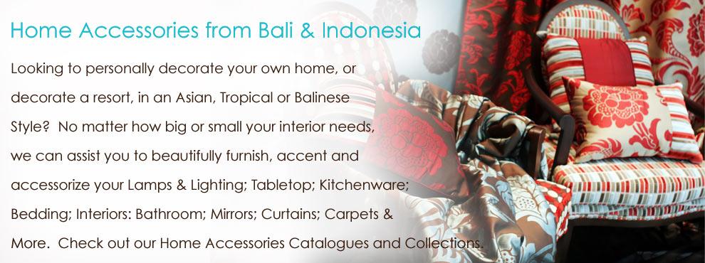 Bali Home Decor & Accessories