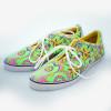 Batik Sneaker - Green