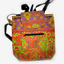 Colourful Backpack - Purple