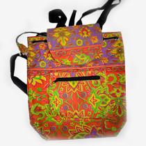 Colourful Backpack - Purple