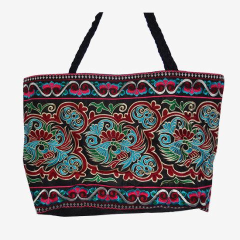 Stitched Bag XL - Black