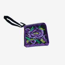 Floral Pouch XS - Purple