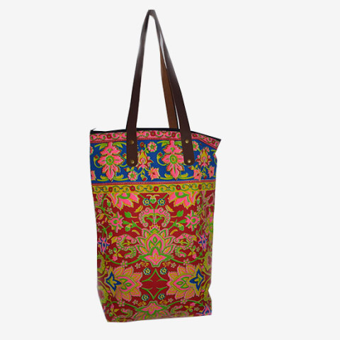 Colourful Bag M - Red