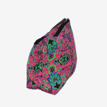 Colourful Cosmetics Bag - Pink