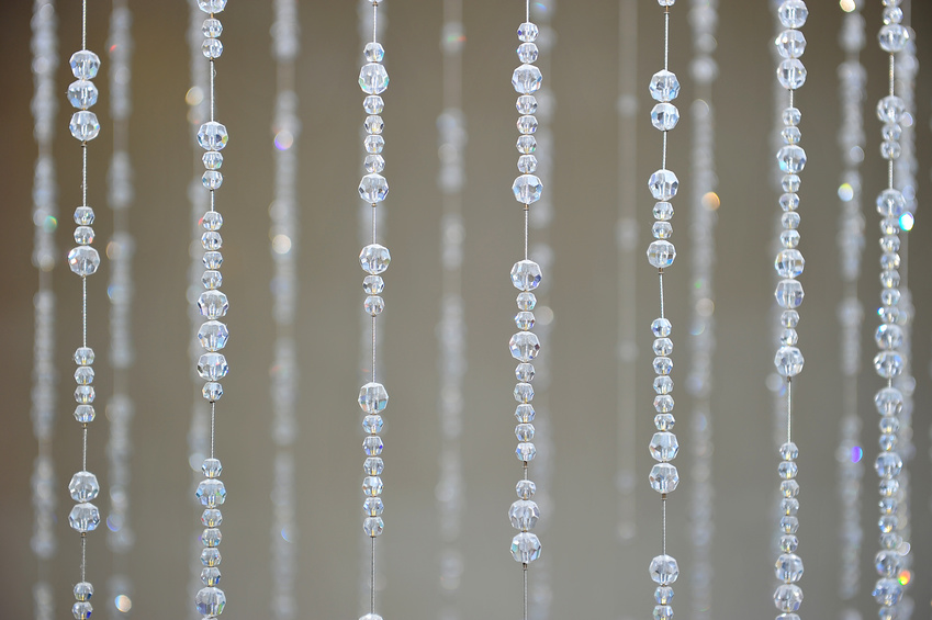 Crystal bead Curtain Pattern
