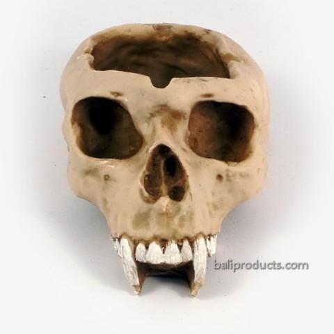 Skull Ashtray Fangs