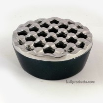 Crown-Ashtray Silver Black