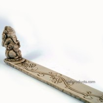 Ganesh Incense Holder White