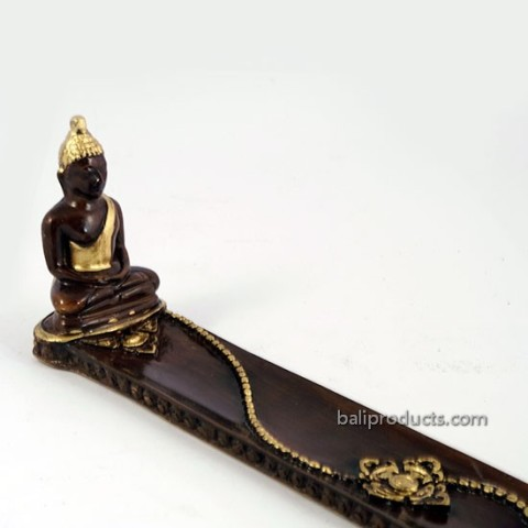 Buddha Incense Holder Gold