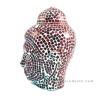 Red Mozaic Buddha Head