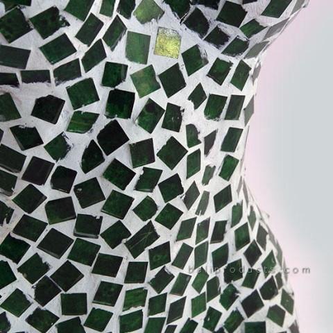 Green Mozaic Woman
