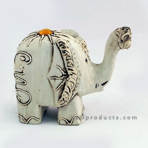 White Gem Elephant