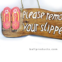 Remove Your Slippers