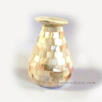 Small Shell Mosaic Vase
