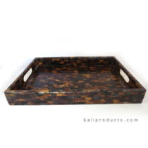 Penshell Serving Tray Brown