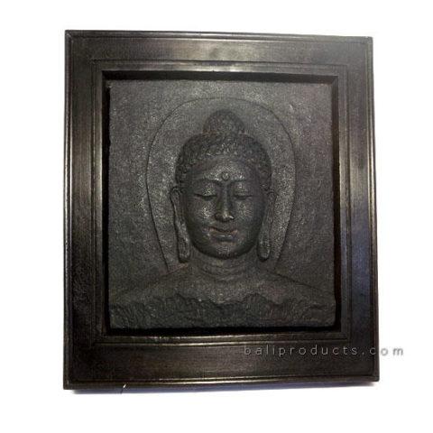 Plaque Buddha Head