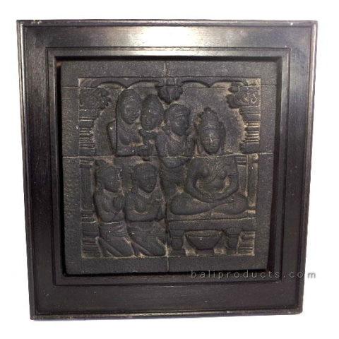 Borobudur Relief Wall Plaque