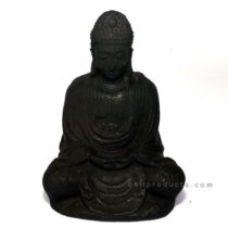 Black Stone Buddha 15cm