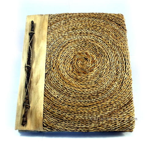BANANA ROPECIRCLE MOTIF RECYCLE PAPER PHOTO ALBUM MEDIUM