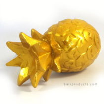 RESIN PINEAPPLE GOLD S