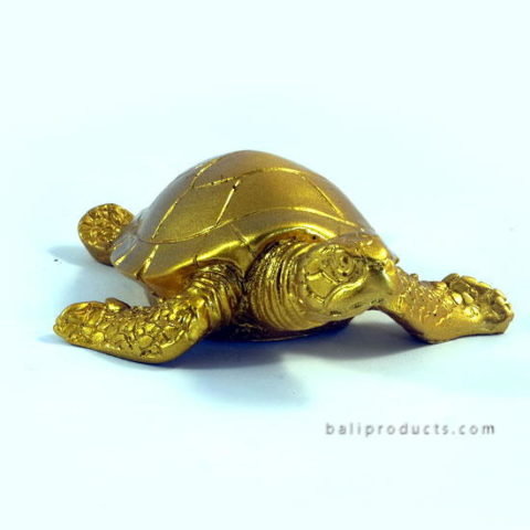 Resin Turtle Gold