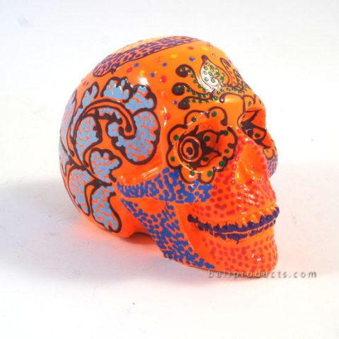 Resin Skull Batik Orang
