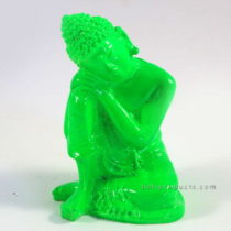 Resin Sleeping Buddha Green