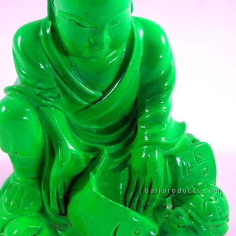 Resin Monk Green