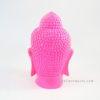 Resin Buddha Head Pink