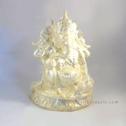 Capiz Shell Ganesh Sitting