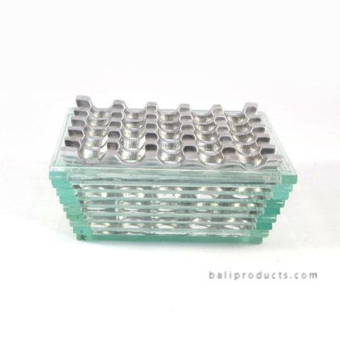 Recycled Glass With Aluminium Ashtray