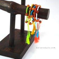 Set 5 Nylon Bead Bracelet With Tassle