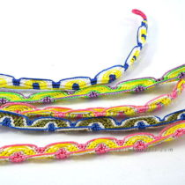 Set 5 Nylon Tread Bracelet