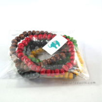 Set 5 Bead Multi Colors Bracelet