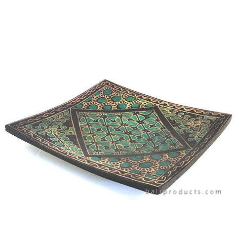 Square Tray Batik Motif Small