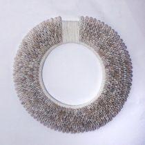 Walldecor Circle White Yarn