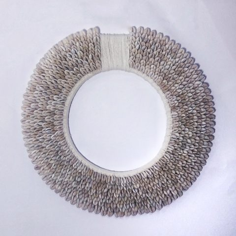 Walldecor Circle White Yarn