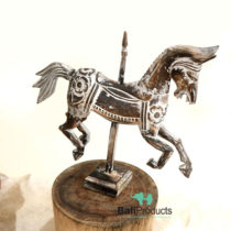 Wooden Horse in Pole