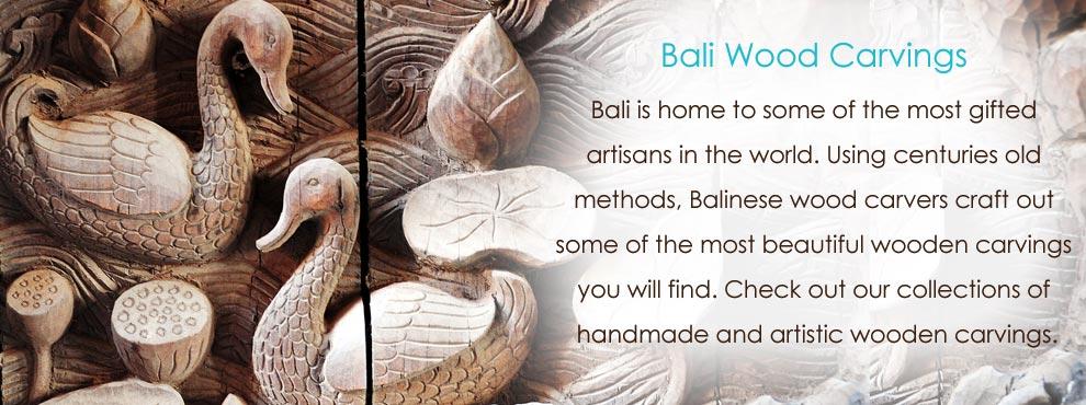 bali woodcarving
