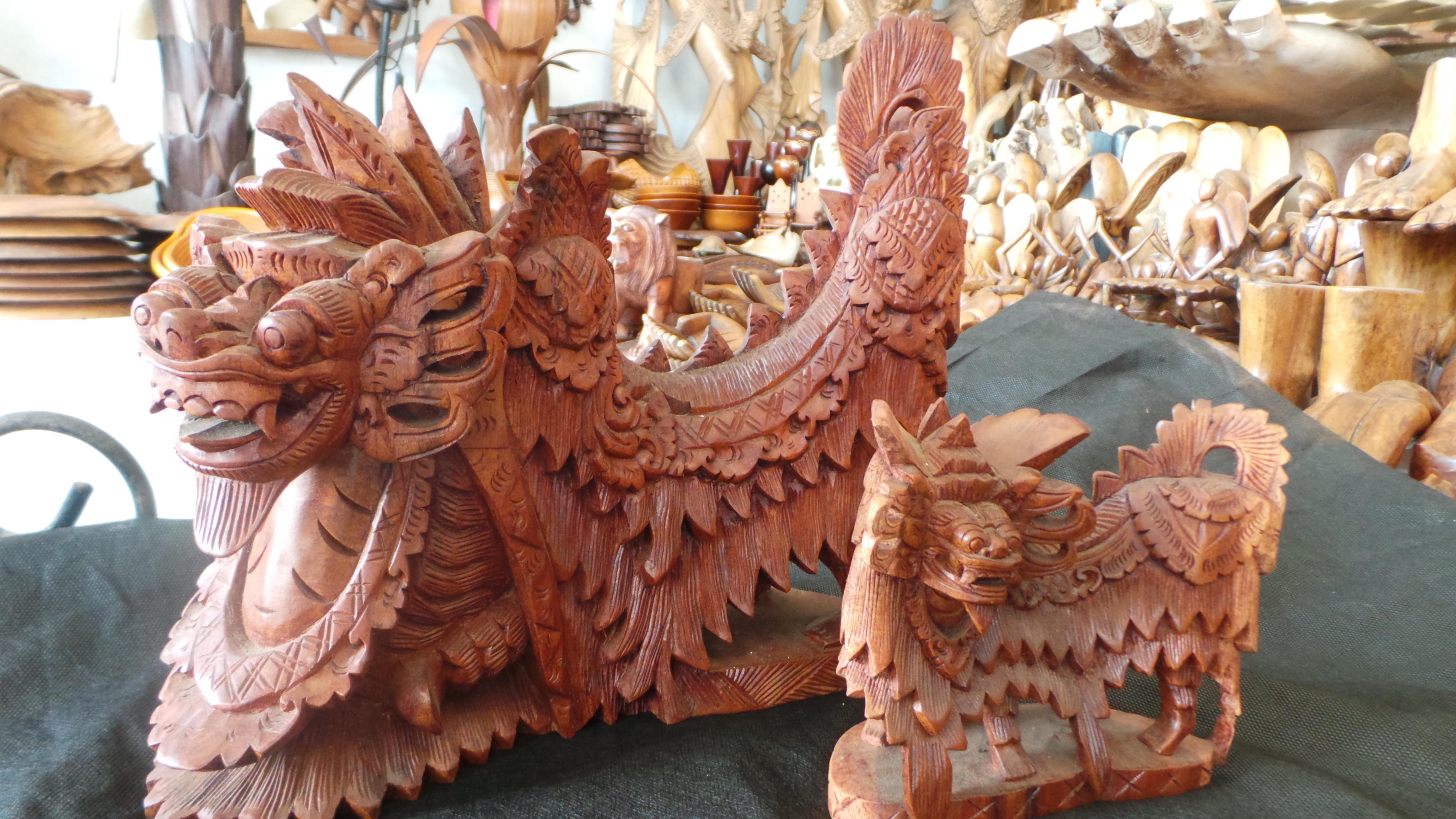 Bali Wood Carving