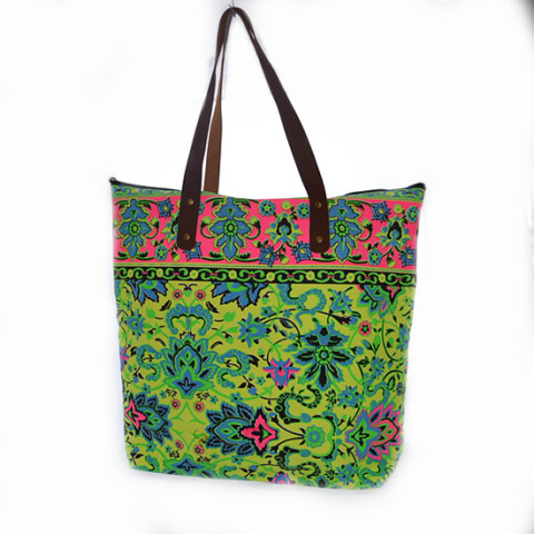 Colourful Bag L - Yellow