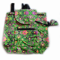 Colourful Backpack - Green