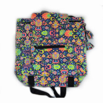 Colourful Backpack - Blue