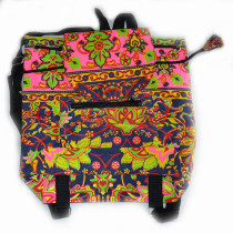 Colourful Backpack - Pink