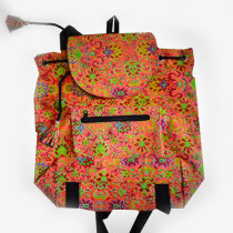 Colourful Backpack - Orange