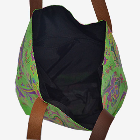 Colourful Bag S - Green