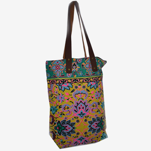 Colourful Bag M - Yellow