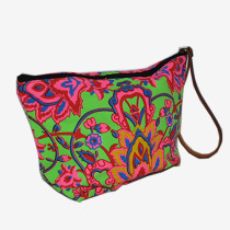 Colourful Cosmetics Bag - Green