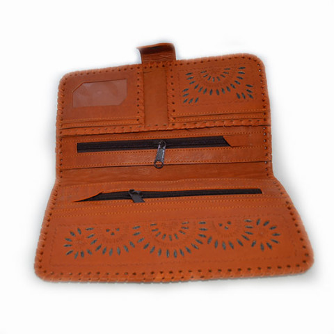 Leather Case - Orange